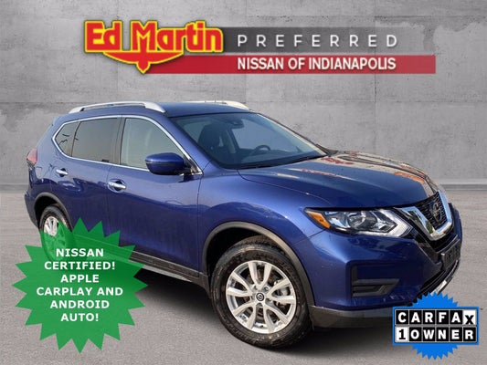 2019 nissan rogue sv indianapolis in carrmel fishers noblesville indiana knmat2mv7kp518615 ed martin automotive group